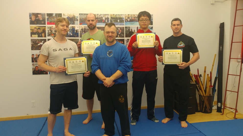 fma intensive group certs